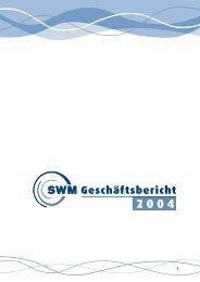 Weitere Informationen über das Geschäftsjahr - Stadtwerke Merseburg