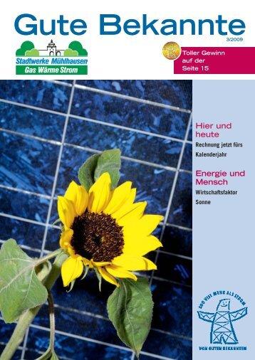 Gute Bekannte - Stadtwerke Mühlhausen GmbH