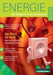 3/2010 - Stadtwerke Mühlhausen GmbH