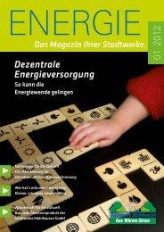 Dezentrale Energieversorgung - Stadtwerke Mühlhausen GmbH