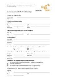 Kundendatenblatt für Photovoltaikanlagen - Stadtwerke Mühlheim ...