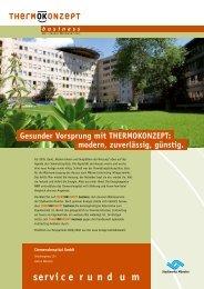 Gesunder Vorsprung mit THERMOKONZEPT - Stadtwerke Münster