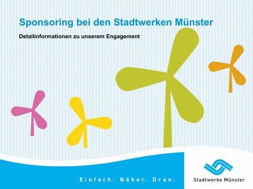 Sponsoring bei den Stadtwerken Münster 130430