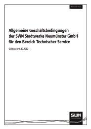 Allgemeine Geschäftsbedinungen für den Bereich Technischer ...