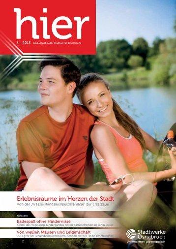 Ausgabe 3 2013 - Stadtwerke Osnabrück