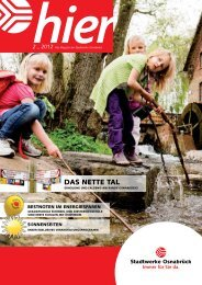 Ausgabe 2 2011 - Stadtwerke Osnabrück