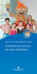 Kurse im Überblick! Broschüre downloaden - Nettebad