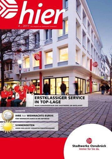 Ausgabe 4 2011 - Stadtwerke Osnabrück