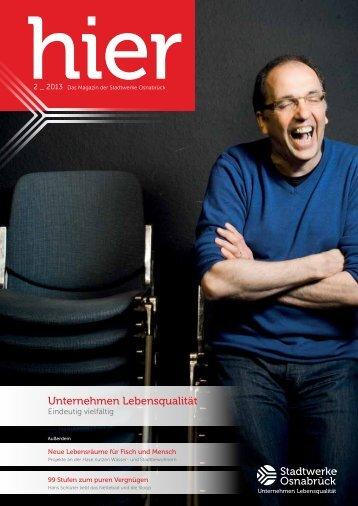 Ausgabe 2 2013 - Stadtwerke Osnabrück