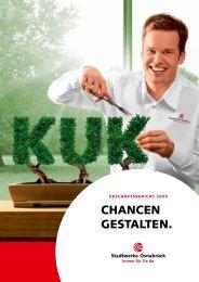 Geschäftsbericht 2009 - Stadtwerke Osnabrück