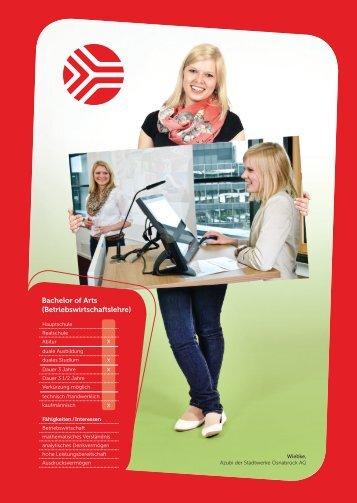 Bachelor of arts (Betriebswirtschaftslehre) - Stadtwerke Osnabrück