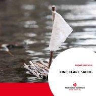 Broschüre Entwässerung - Stadtwerke Osnabrück