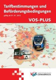 Broschüre Inhalt VOSplus 2013.indd - Stadtwerke Osnabrück