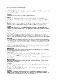 Begriffserklärungen zur Belieferung mit Strom - Stadtwerke Pforzheim