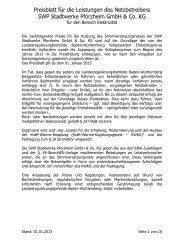 89kB - SWP Stadtwerke Pforzheim