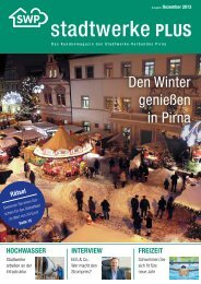 Ausgabe Dezember 2013 - Stadtwerke Pirna GmbH