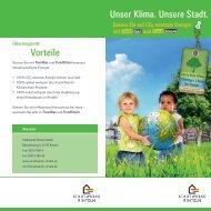 Infoflyer TrendGas/TrendStrom - Stadtwerke Rinteln