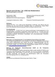 Bericht nach § 52 Abs. 1 Nr. 2 EEG des Netzbetreibers - Stadtwerke ...