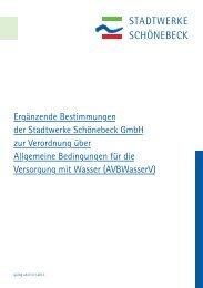 Ergänzende Bestimmungen Wasser.pdf - Stadtwerke Schönebeck ...