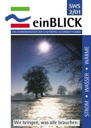 SWS 2/01 - Stadtwerke Schönebeck GmbH