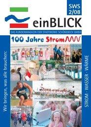 ZUKUNFT 4einBLICK 2/2008 - Stadtwerke Schönebeck GmbH