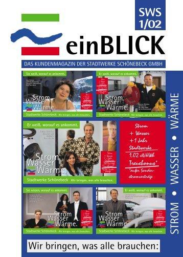einBLICK - Stadtwerke Schönebeck GmbH