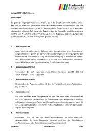 Anlage NZB 1 - Stadtwerke Sindelfingen