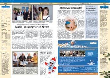 Ausgabe 12/2009 - Stadtwerke Schwerin
