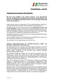 "Stadtwerke bauen weiteres ""Öko-Kraftwerk"" - Stadtwerke Sindelfingen"