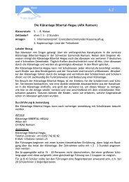 Die Kläranlage Bibertal-Hegau - Stadtwerke Singen