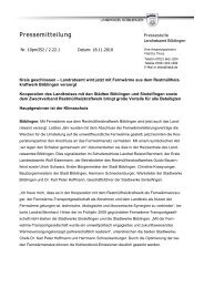 Pressemitteilung - Stadtwerke Sindelfingen