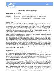 Stockacher Quellerlebniswege - Stadtwerke Singen