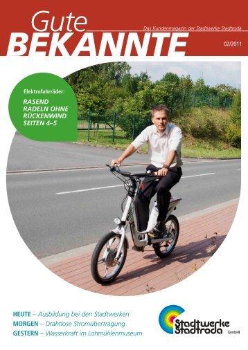 Gute Bekannte 2011 - Stadtwerke Stadtroda GmbH
