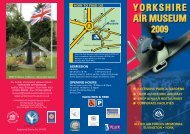 Yorkshire Air Museum - Days Out Leaflets