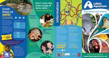 Information - Days Out Leaflets