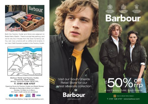 barbour outlet