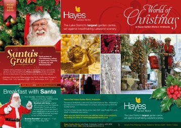 Hayes Xmas - Days Out Leaflets