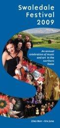 Swaledale Festival - Days Out Leaflets