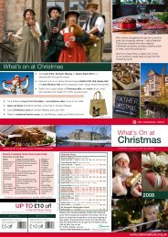 Christmas - Days Out Leaflets