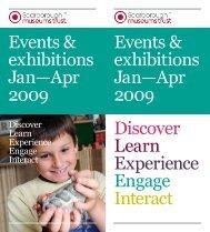 Scarborough Museums Trust Jan Apr 2009 - Days Out Leaflets