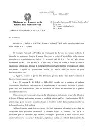 Denuncia malattia professionale - Ministero del lavoro, salute e ...