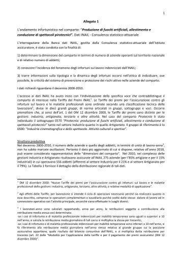 Allegato 1 - Ministero del Lavoro e delle Politiche Sociali