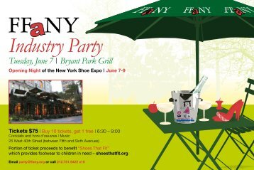 Industry Party - FFaNY
