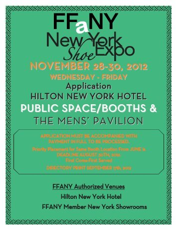 november 28-30, 2012 - FFaNY