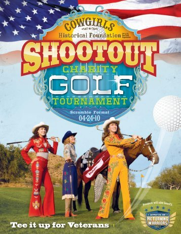 Tee it up for Veterans - Cowgirls Historical Foundation