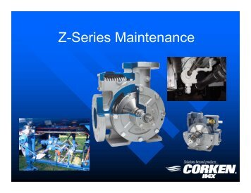 Disassembly & Assembly Instructions for Z-Series Pumps - Corken