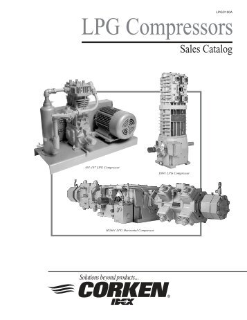 Sales Catalog for LPG Compressors - Corken