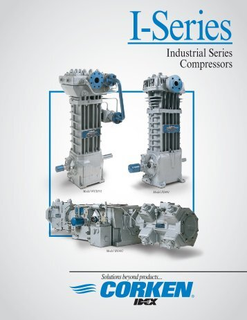 Industrial Series Compressors - Corken