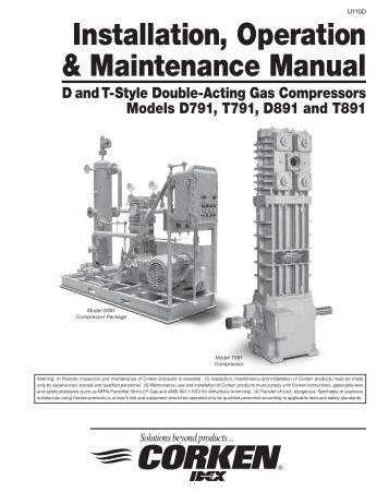 Denyo Compressor Operation manual