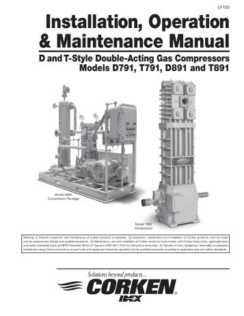 Installation, Operation & Maintenance Manual - Corken